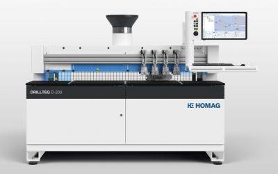 Centro  de mecanizado CNC DRILLTEQ D-200