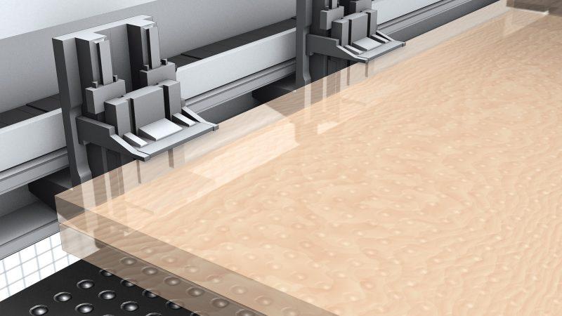 Sistema de pinzas de sujeción con accionamiento CNC para mecanizados rápidos y precisos