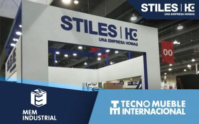Stiles Machinery México participará en MEM Industrial y Tecno Mueble Internacional 2021.